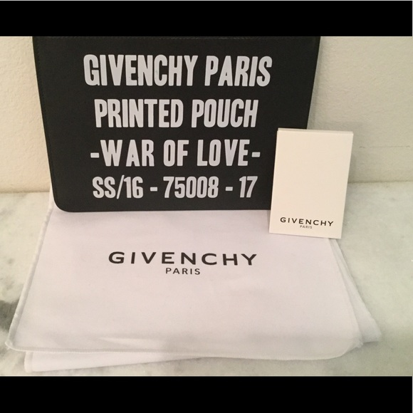 Givenchy Handbags - Givenchy war of love clutch 72d96c4c4a7a7